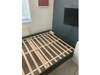 Small European double bed