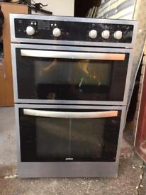 Prima fitted double electric oven