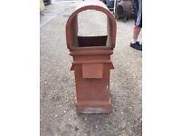 Hooded Square Chimney Pot