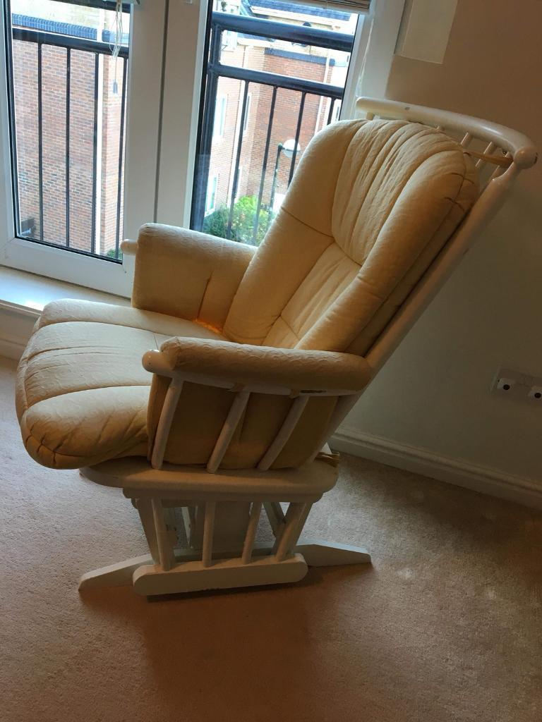 Dutailer Gliding Rocking Chair In Penarth Vale Of