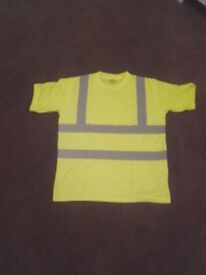 3 Xl hi viz t-shirts