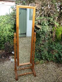 Swing Mirror (Solid Pine) Quality Built .