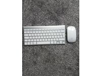 New apple keyboard and mouse