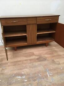 Retro mid sized sideboard bargain free delivery