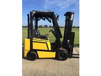 Yale gas forklift truck