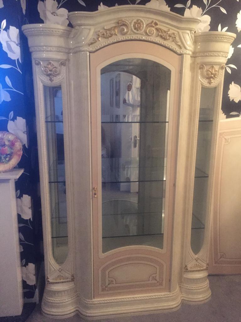 Italian Romany Gypsy Style Display Cabinet In Bournemouth Dorset