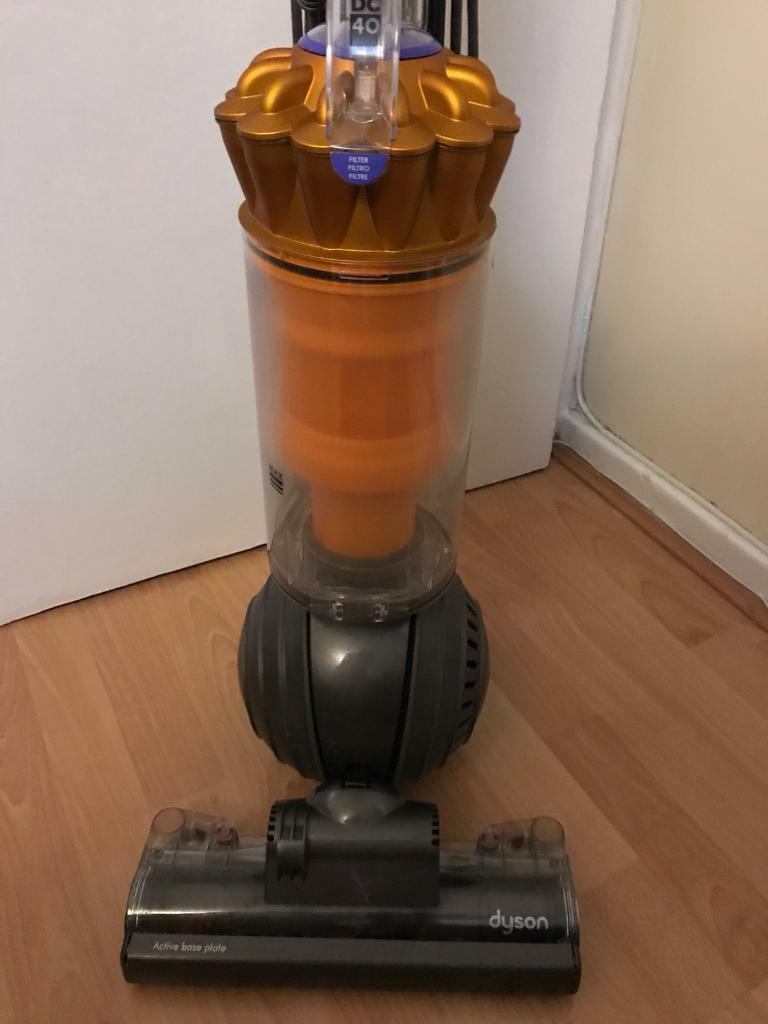 Great Dyson DC40 Multi Floor ERP Yellow Upright Root Cyclone Vacuum Cleaner