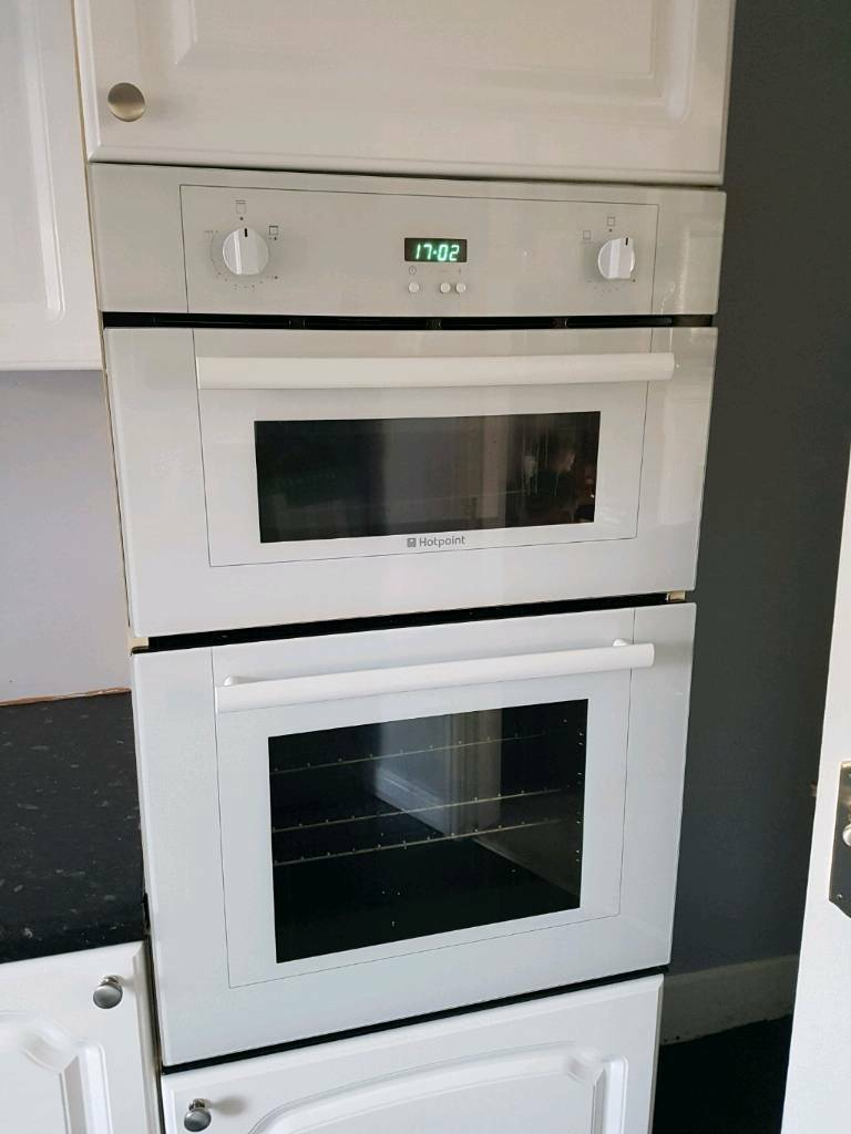 Gas Oven And Grill Part - 30: White Gas Oven And Grill