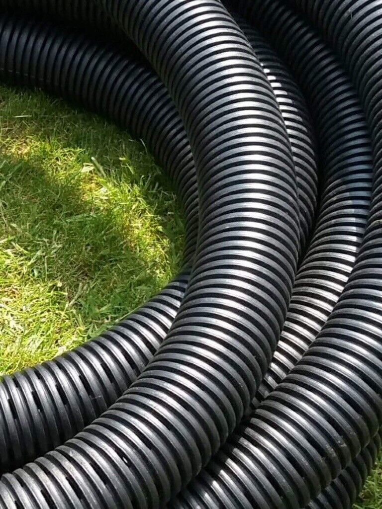 Perforated Garden Drainage Pipe   Zef Jam