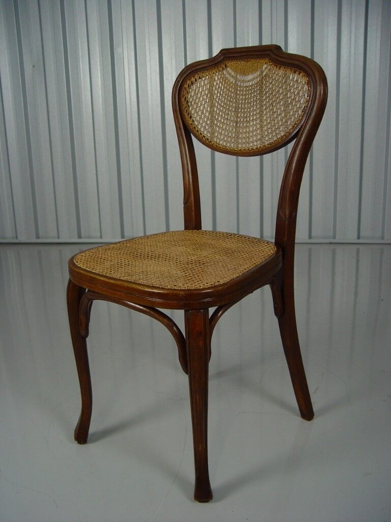 J And J Kohn Austrian Bentwood Chair 1914 Retro Vintage Wooden Furniture