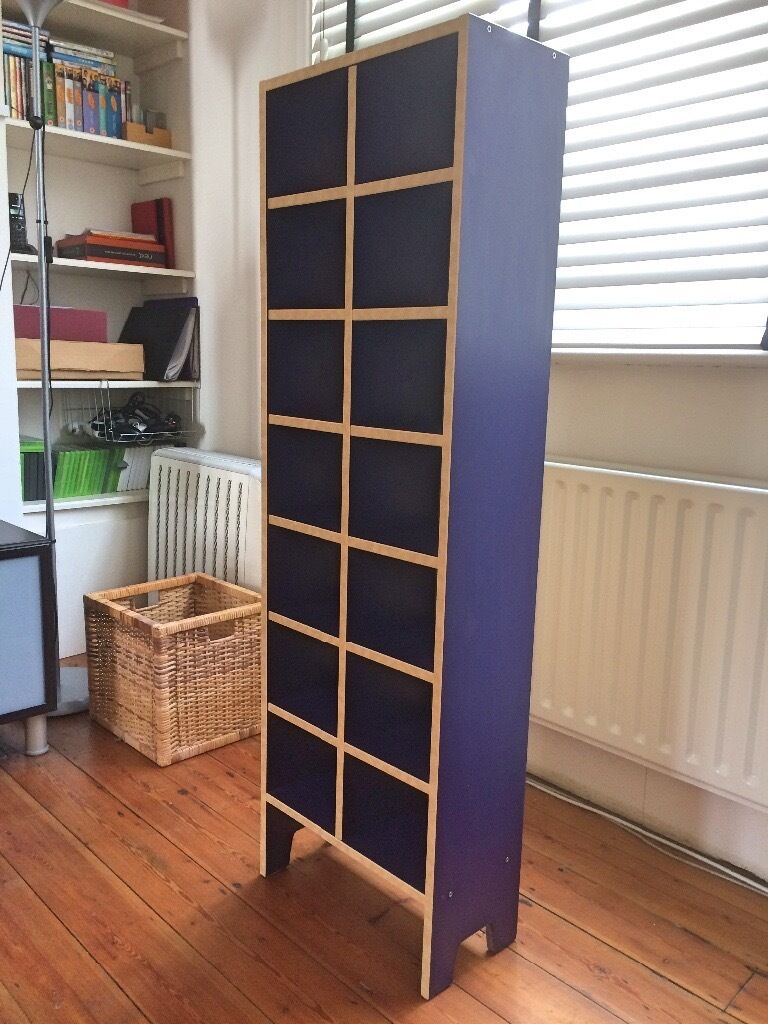 IKEA Blue CD Rack / Shelf