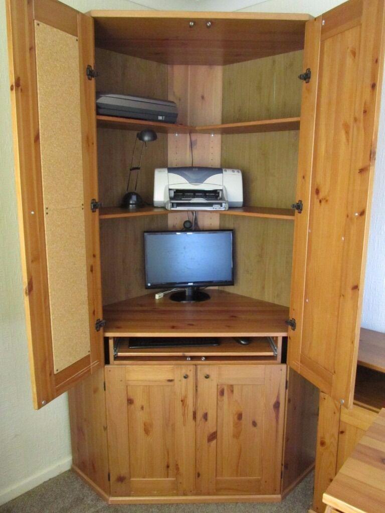 Corner Computer Cabinet   IKEA Alve