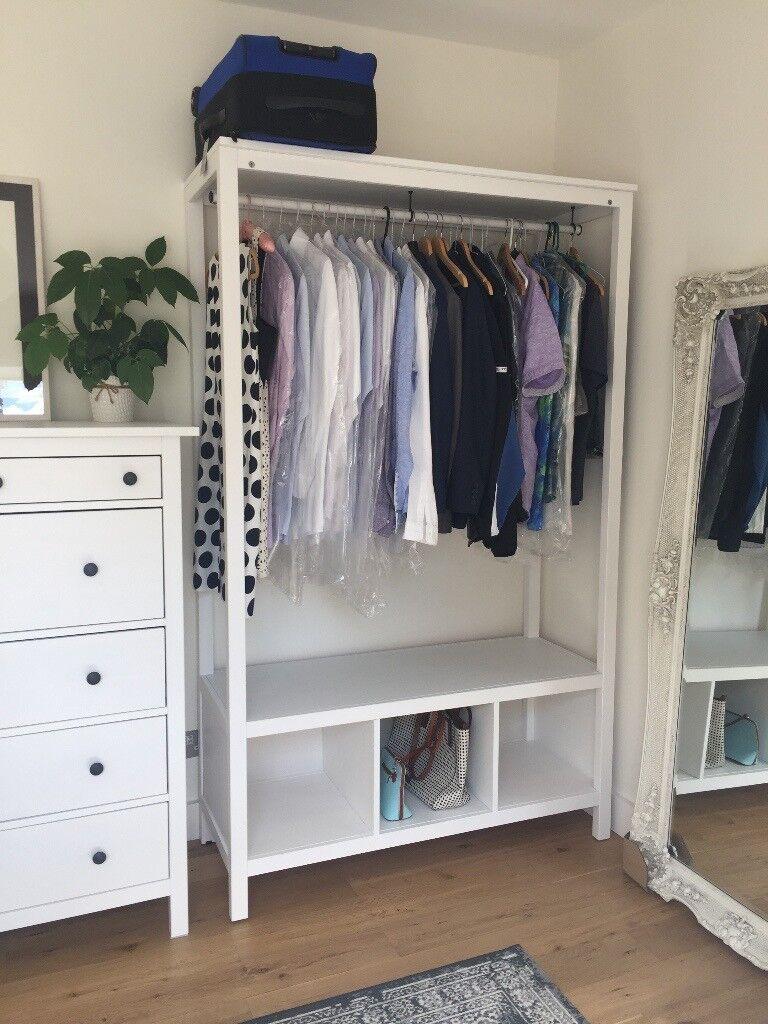 IKEA Hemnes Open Wardrobe (new And Assembled)