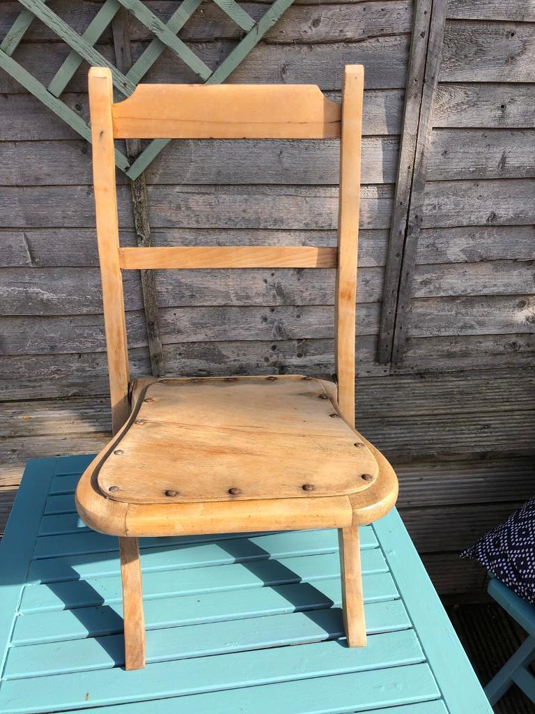 Folding Antique Childrenu0027s Chair & Folding Antique Childrenu0027s Chair | in Inverness Highland | Gumtree