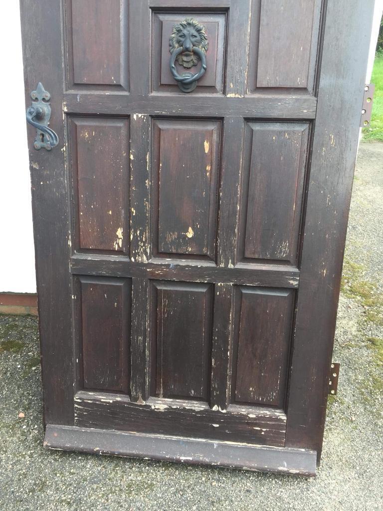 FRONT DOOR IN NEED OF REFURBISHMent
