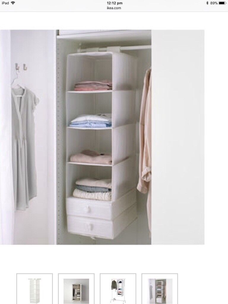 Exceptionnel Hanging Wardrobe Shelves Clothes Storage
