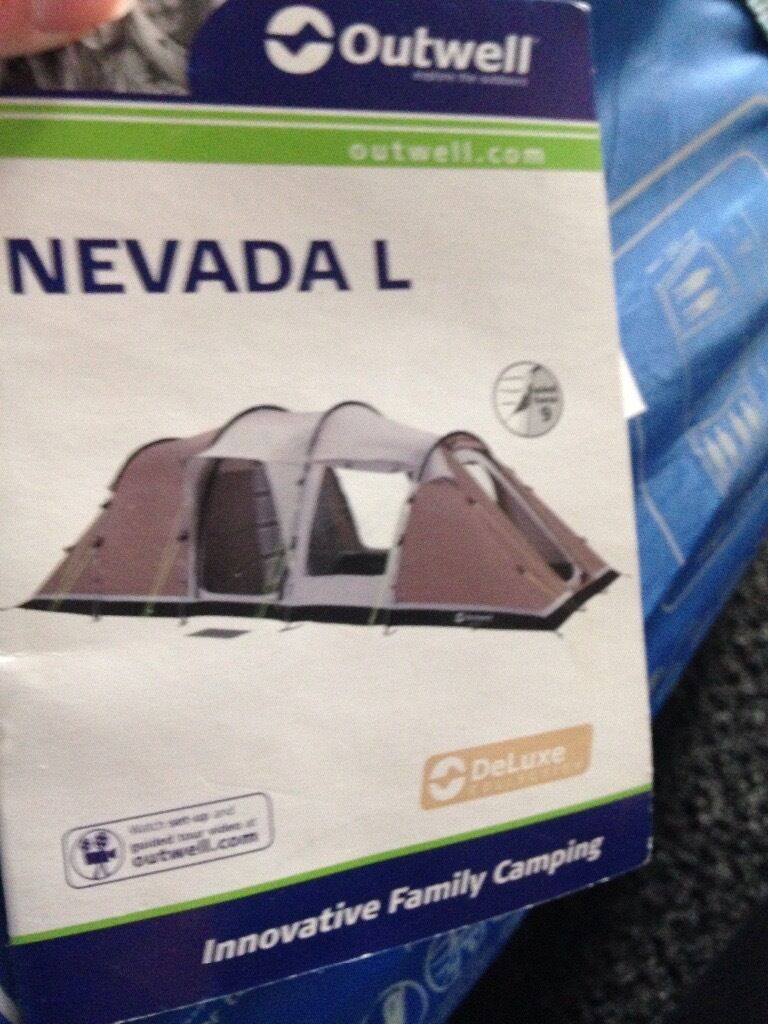 outwell Nevada L tent Only used once in the garden this is reason for sale as & outwell Nevada L tent Only used once in the garden this is reason ...