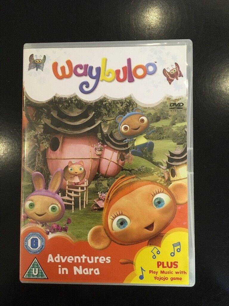 Kids DVD - Waybuloo - Adventures in Nara - Used Good Condition - 50p & Kids DVD - Waybuloo - Adventures in Nara - Used Good Condition ...