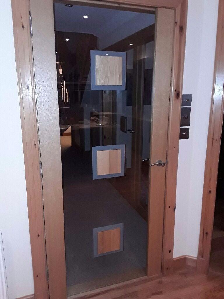 5no.x Dooria Oak and clear glass internal doors & 5no.x Dooria Oak and clear glass internal doors   in Inverness ... pezcame.com