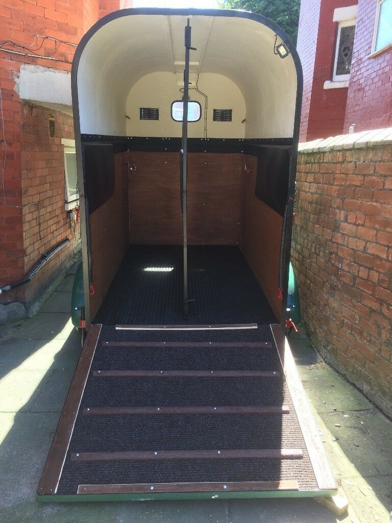 Rice Vintage (horse, Camping Or Other Purpose) Trailer (EXCELLENT Refurbish  Condition)