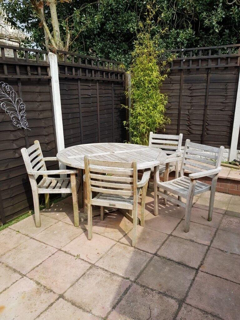 TEAK TABLE u0026 CHAIRS & TEAK TABLE u0026 CHAIRS | in Atherstone Warwickshire | Gumtree