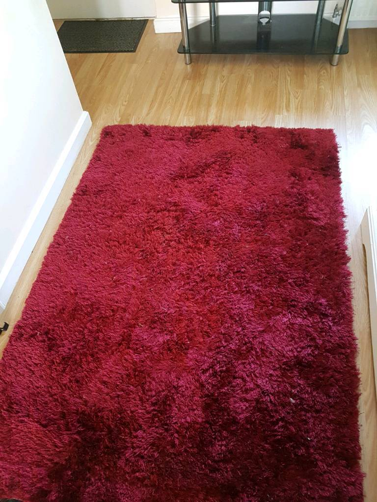 Red Sparkle Rug