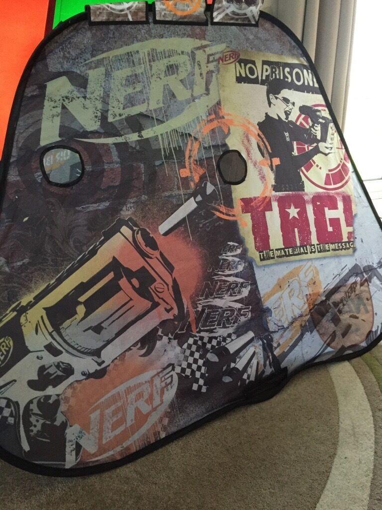 Nerf Gun Tent & Nerf Gun Tent | in Shaw Manchester | Gumtree
