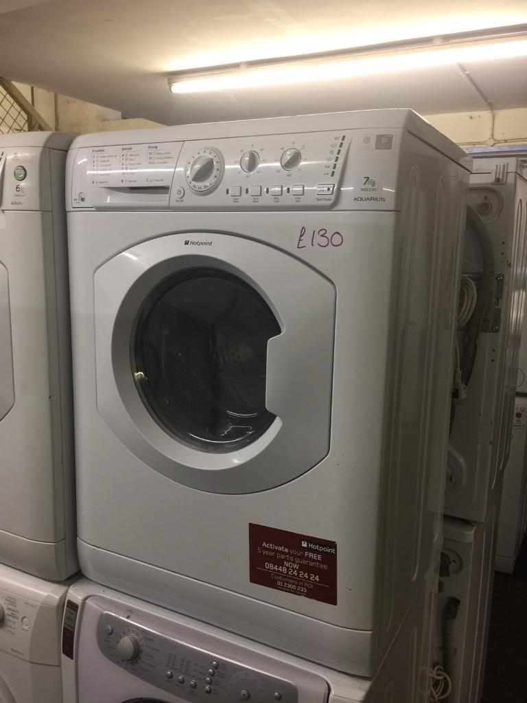 7kg hotpoint washer dryer good condition planet appliance