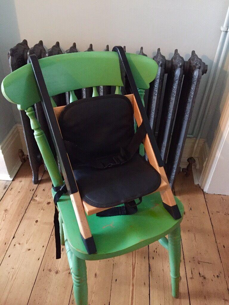 Handysitt Child/baby/toddler Booster Seat, High Chair, Portable. Wood U0026