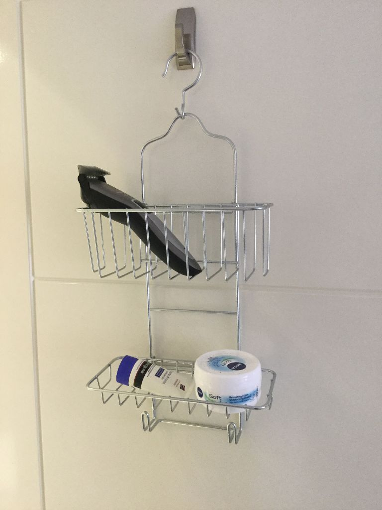 Set Bathroom Accessories Ikea: Soap Dish / Shower Basket / Shower Hanger /  Mirror