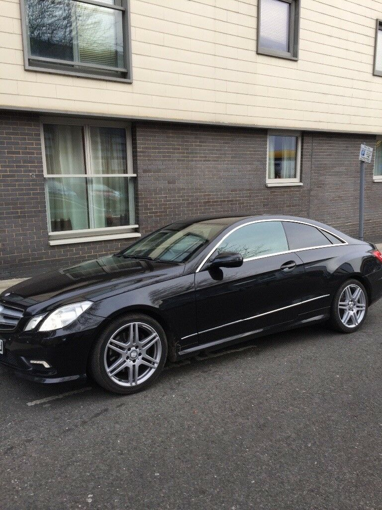 2009 Mercedes Sport Plus Amg E350 V6 Coupe, Long Mot, Full History