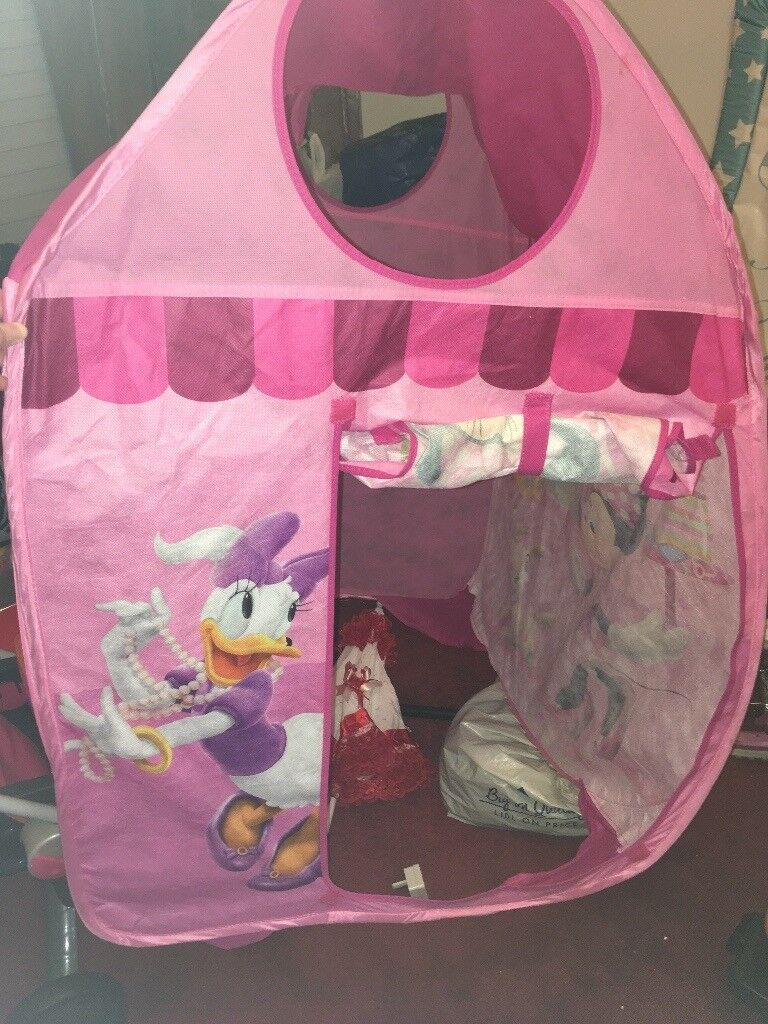Minnie Mouse play tent. Image 1 of 2 & Minnie Mouse play tent   in Plymouth Devon   Gumtree