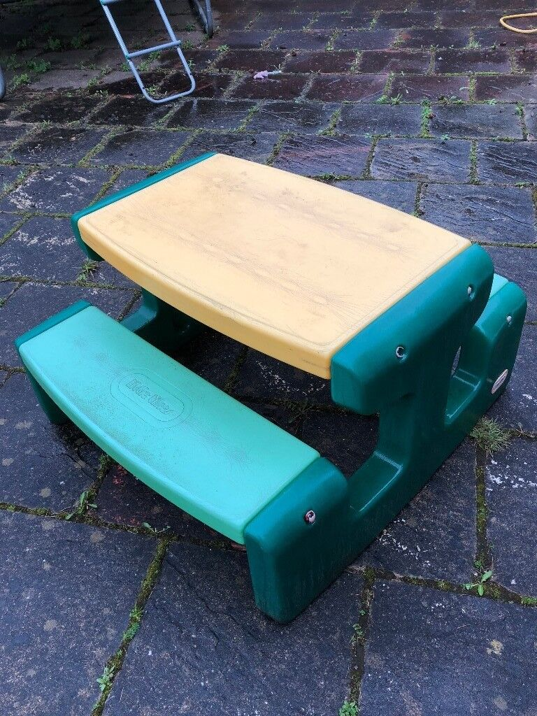 Little Tikes Large Picnic Table (Evergreen)**Outdoor Garden Table For Kids*