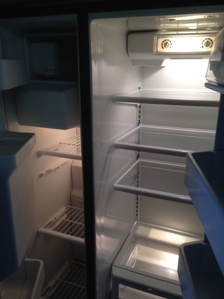 Cheap American Fridge Part - 48: Stainless Steel American Fridge Freezer....cheap Free Delivery