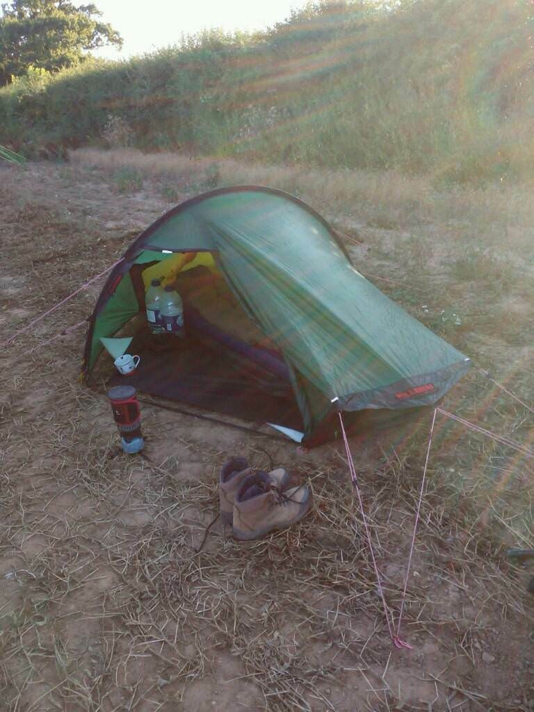 HILLEBERG AKTO TENT WITH GENUINE FOOTPRINT. & HILLEBERG AKTO TENT WITH GENUINE FOOTPRINT. | in Broadstairs Kent ...