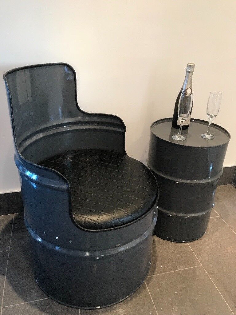 Oil Drum Chairs