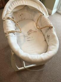 mama and papa moses basket and stand amby baby hammock with amby jump jump   in gloucester      rh   gumtree