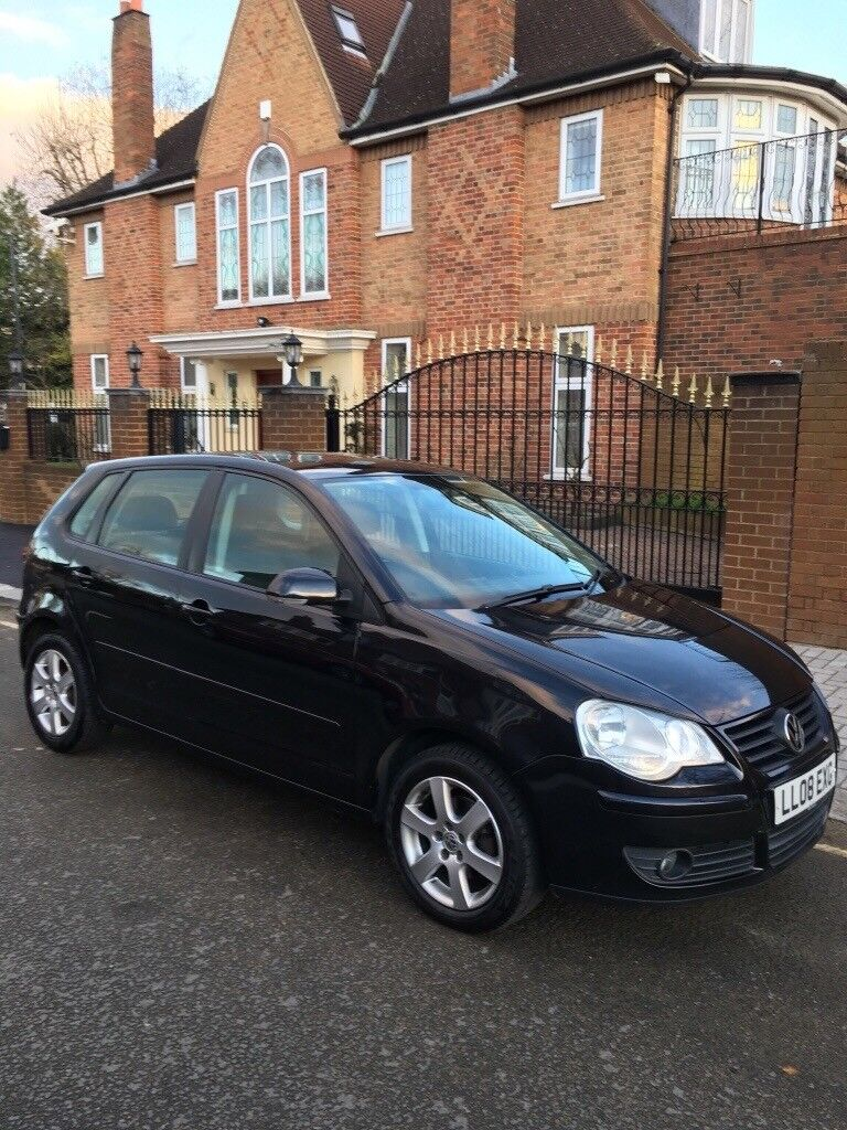 Volkswagen Polo Match 2008 Auto 1.4 Petrol,excellent Clean Car ,timing Belt  And Water