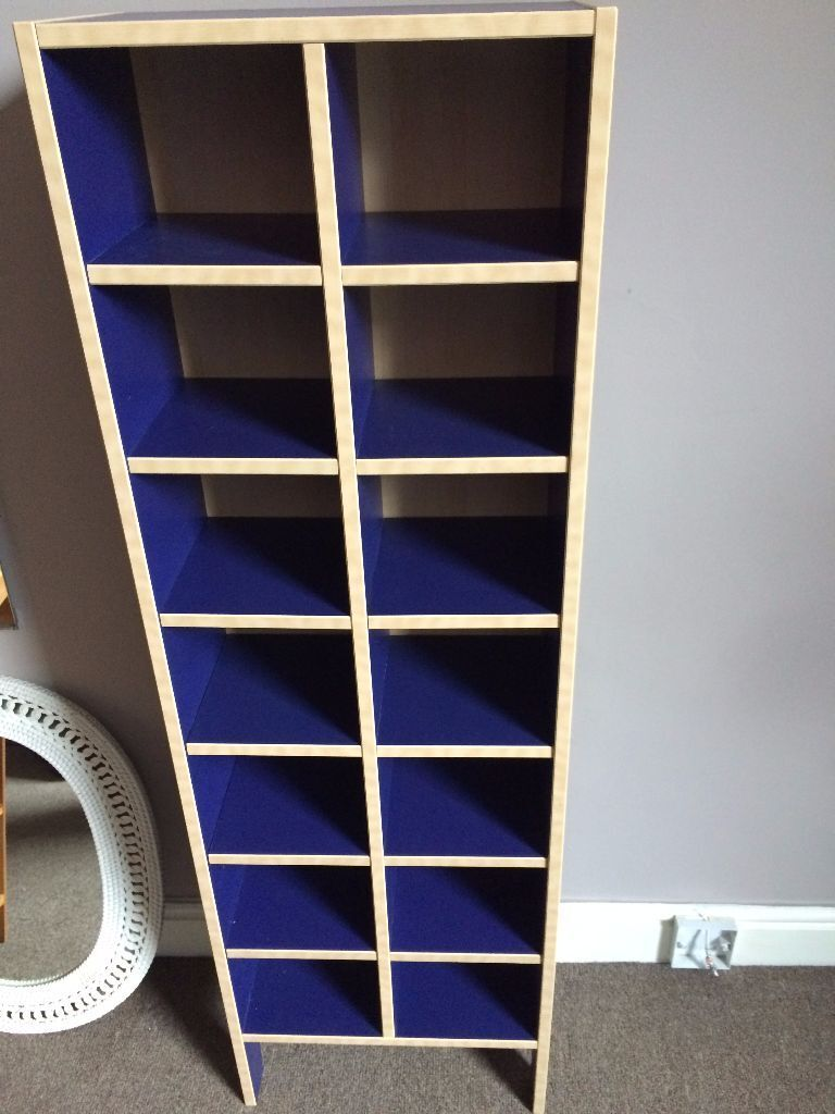 URGENT   IKEA CD Rack Robin BLUE   FAST SALE AS WE ARE MOVING ABROAD
