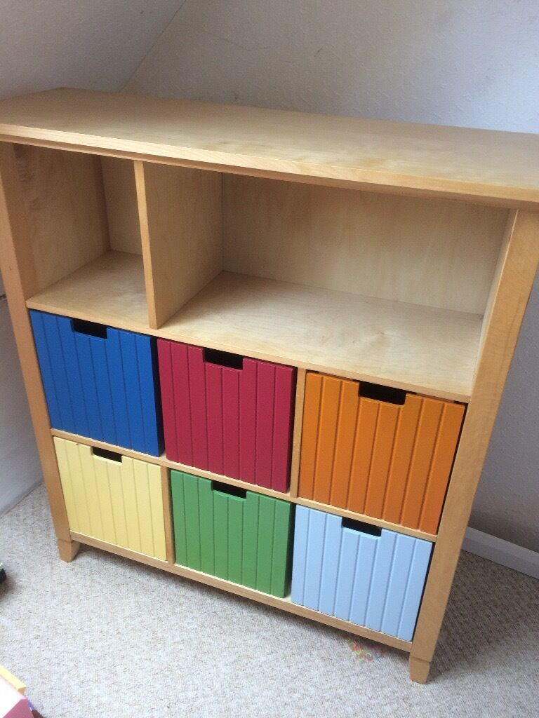 Colourful Bookcase U0026 Toy Storage Drawers With Safety Assembly Bracket By  Cafekid  A+for