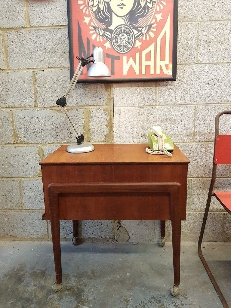 Mid Century Vintage Sewing Box Storage & Mid Century Vintage Sewing Box Storage | in New Cross London | Gumtree
