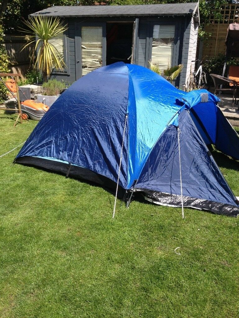 four man tent set up in garden once never used excelent condition & four man tent set up in garden once never used excelent condition | in ...