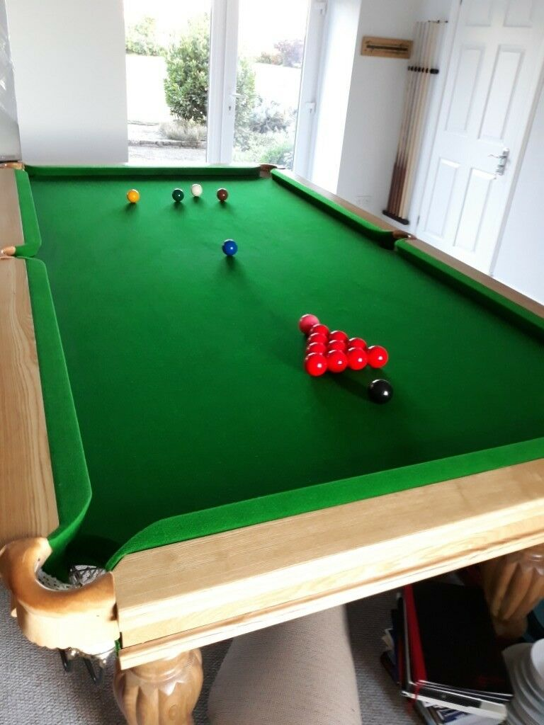 8 X 4 Snooker Table In Excellent Condition.