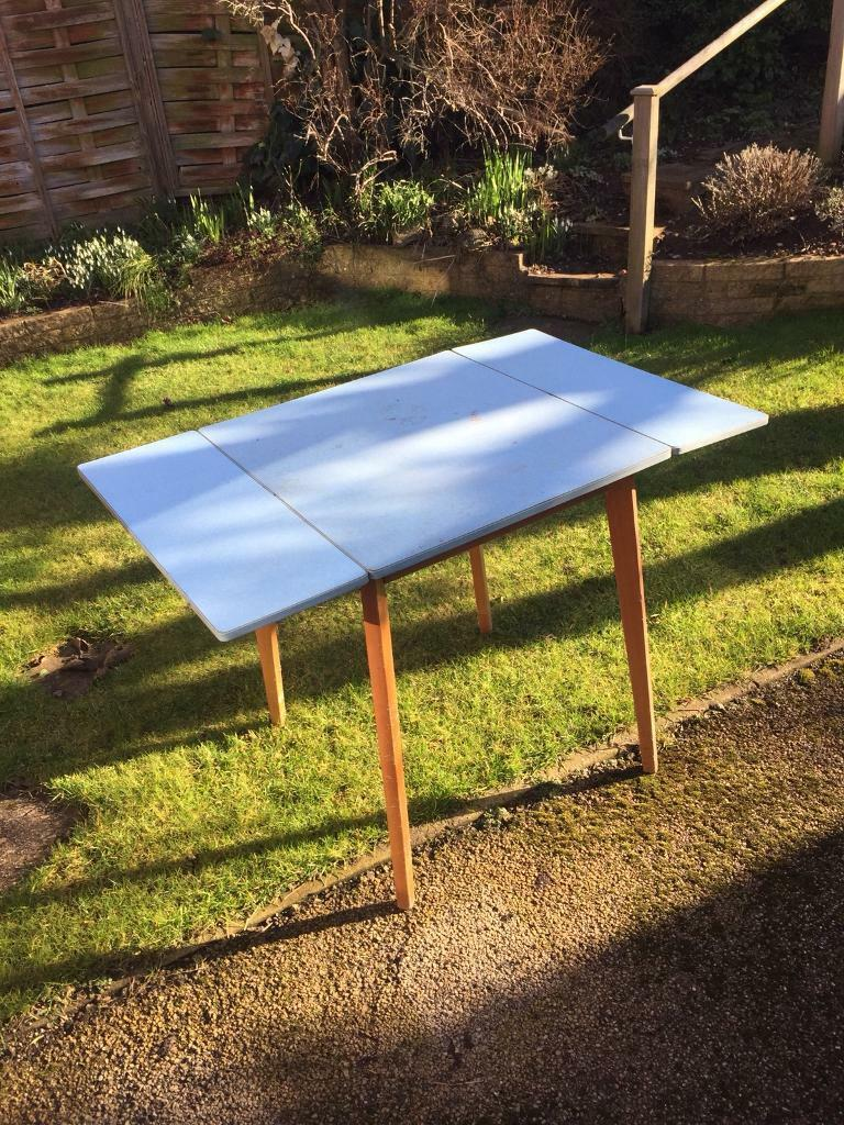 vintage chic 1960s formica kitchen table vintage chic 1960s formica kitchen table   in derby derbyshire      rh   gumtree com
