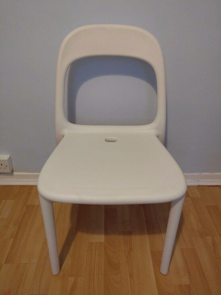 Genial White Ikea Urban Chair