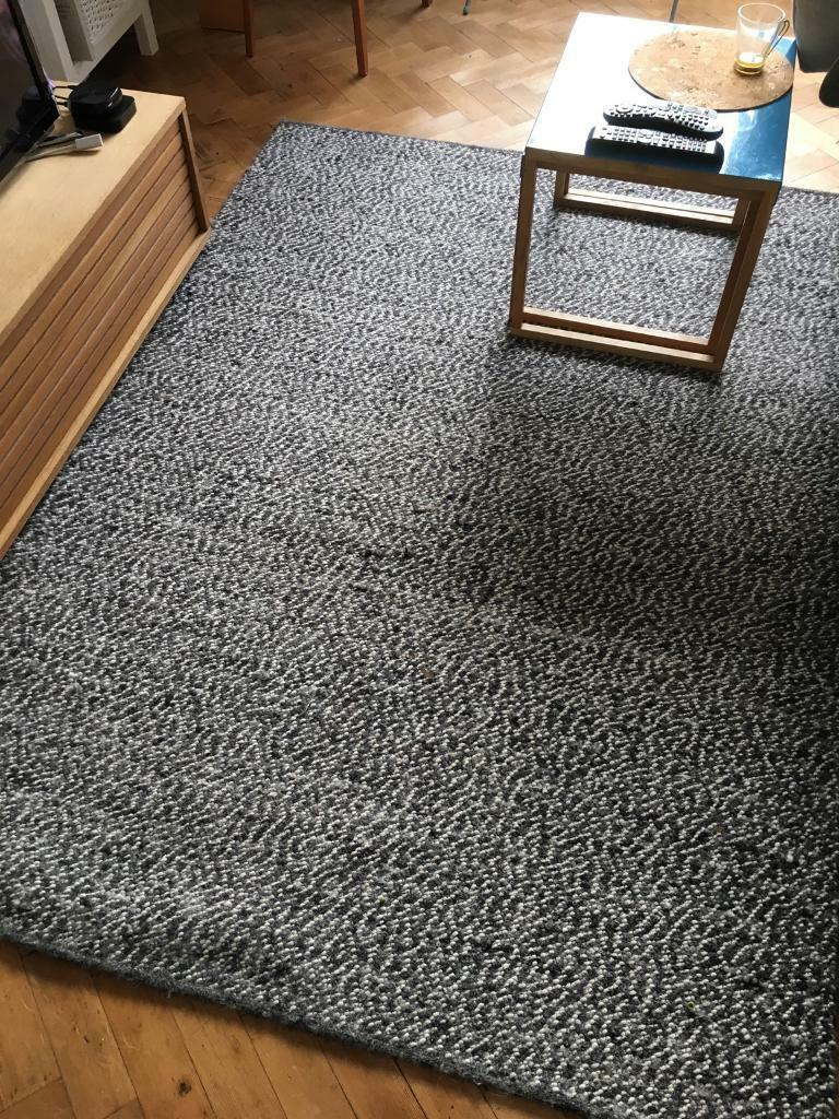 Ikea Basnas Rug Wool Loop 140 X 200cm