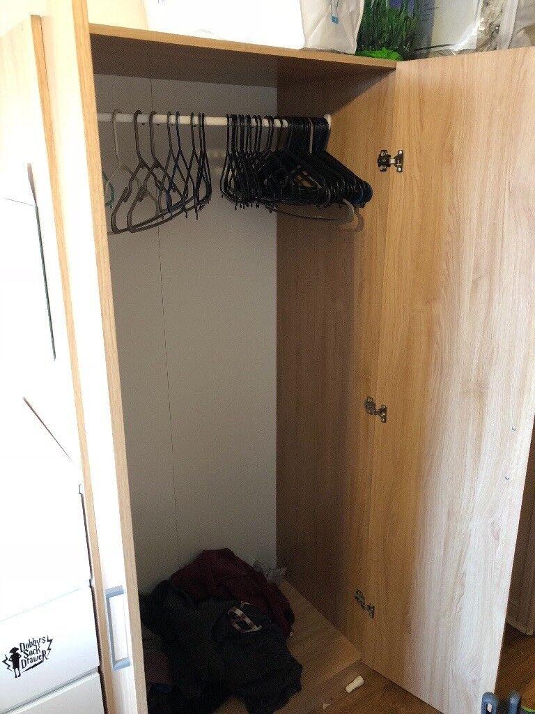 3   Door Clothes Cabinet (IKEA)
