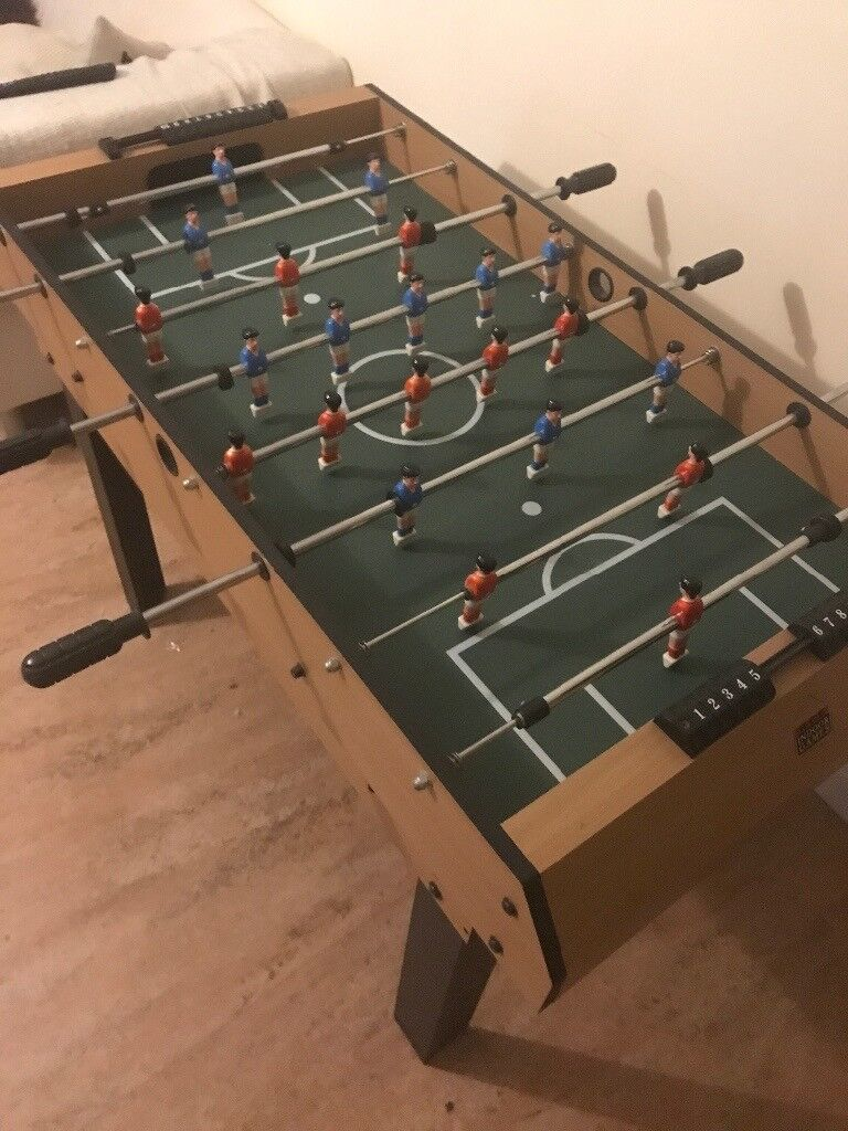 Football Table / Foosball Table, Pool Table, Air Hockey And Table Tennis 4  In
