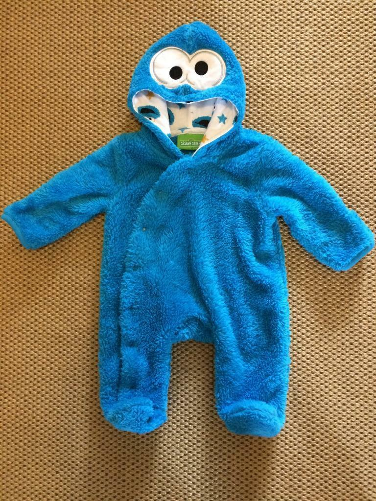 ... sesame street cookie monster suit 0 3 months ... & Cookie Monster Suit - House Cookies