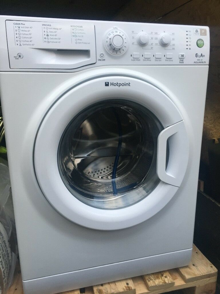 HOTPOINT AQUARIUS 6Kg A+. I Deliver The Washing Machine Up To Your Front  Door Within